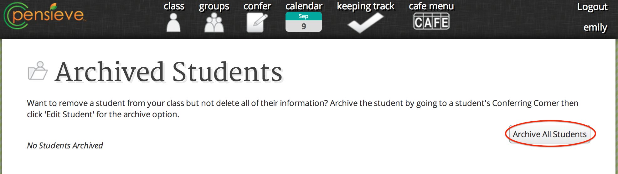 archiveAllStudents 2
